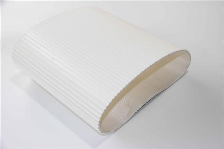 白色搓衣板输送带