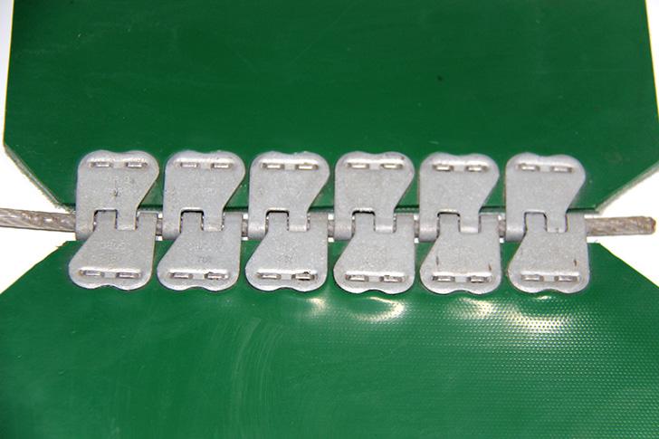 钢扣连接输送带